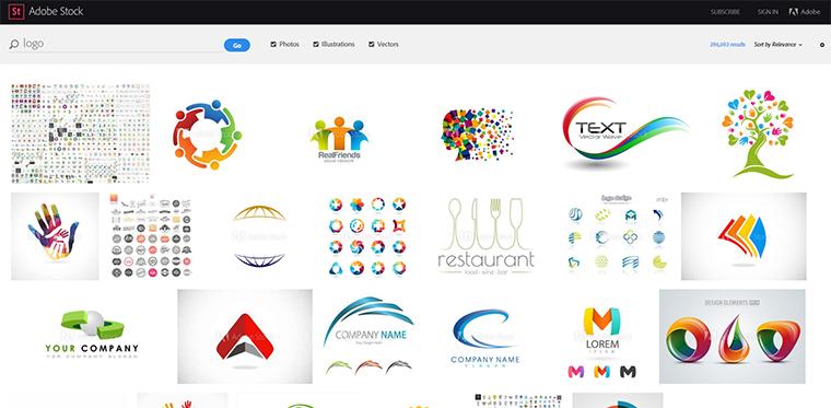 adobe stock logos